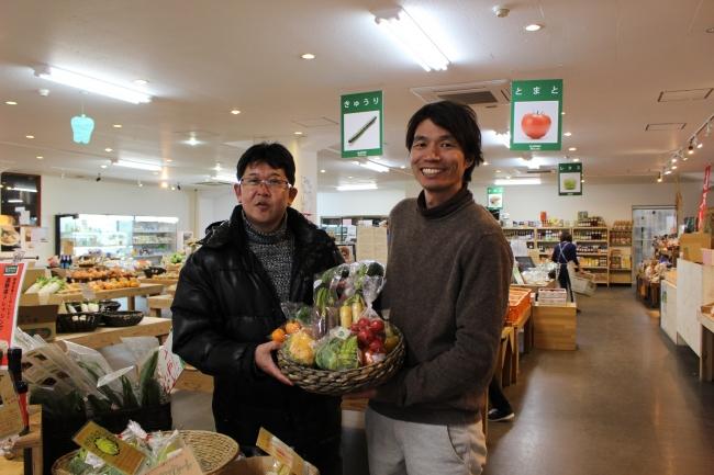 はっぱや神戸にて浦邊料理長と加古憲元さん