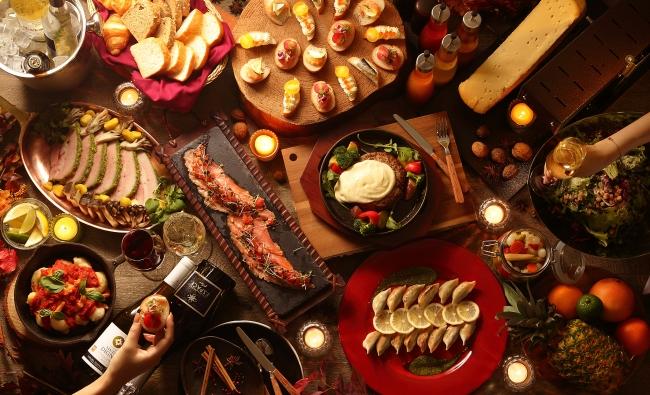 秋のワインディナーブッフェ イメージ