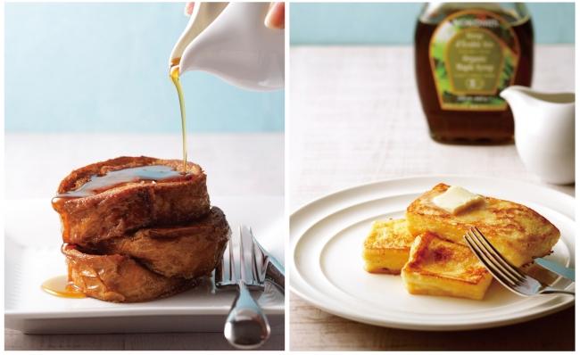 フレンチトースト2種のイメージ写真