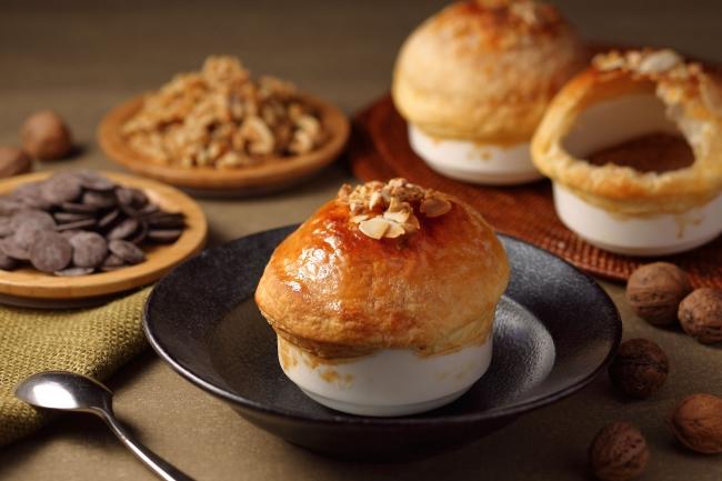 チョコレートブリュレのパイ包み焼きイメージ(ピア)