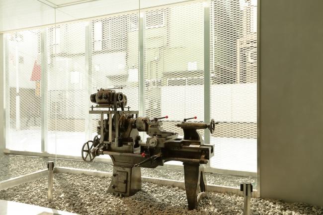 展示工業機械