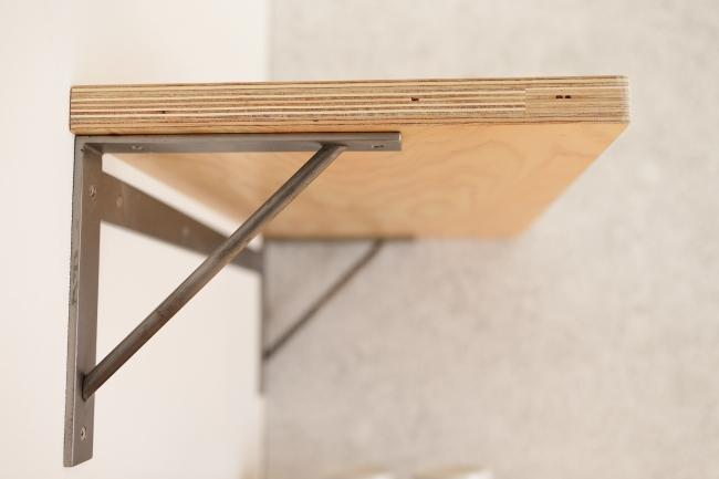 工業素材を活用した内装例