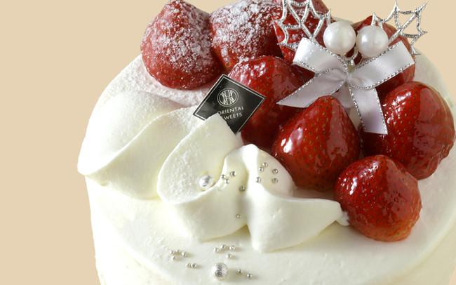 ① あまおう苺のクリスマスケーキ