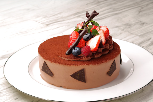 特製チョコレートケーキ