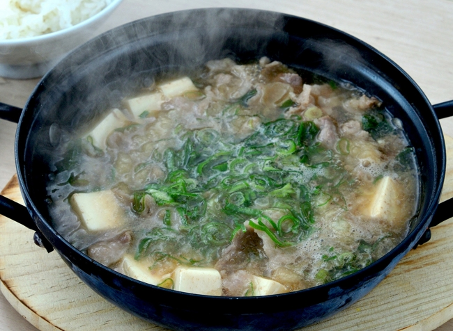 鍋 肉 吸い