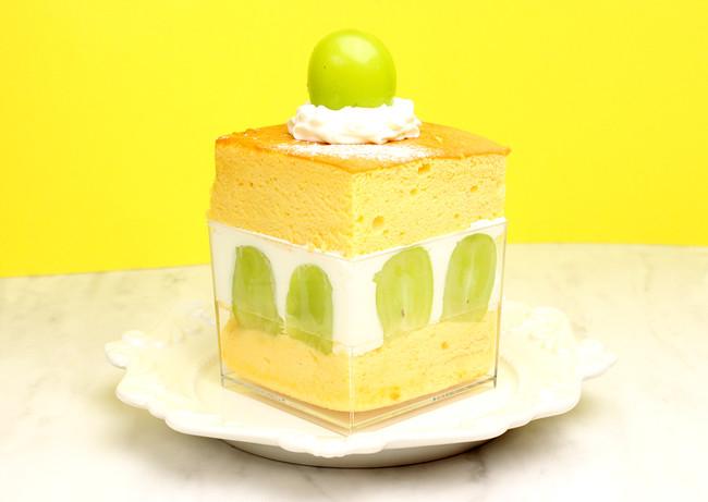 台湾カステラショートケーキ シャインマスカット ¥980