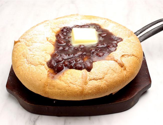 あんバターの 台湾カステラパンケーキ¥980