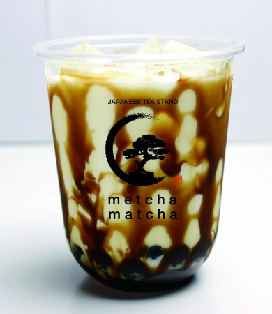 黒糖タピオカミルク ¥550