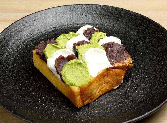 たまごスフレカステラオープンケーキ 抹茶とあんこのZEN ¥500