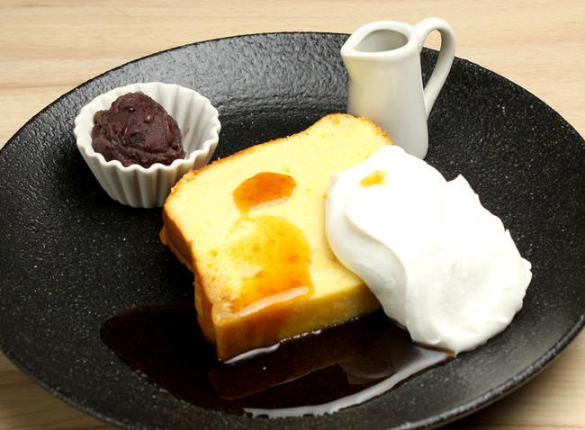 たまごスフレカステラ オープンケーキ プレーン¥500