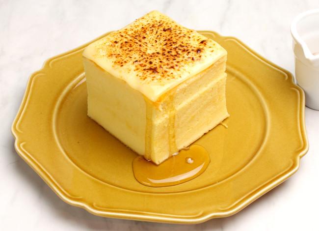 台湾カステラデコケーキ ブリュレチーズ¥650