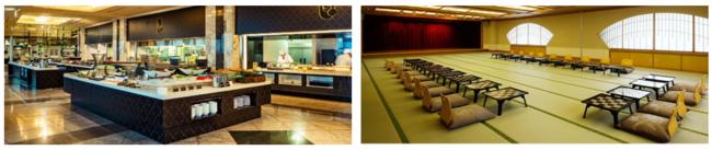 レストラン ロイヤルグランシャリオ/大広間・宴会場