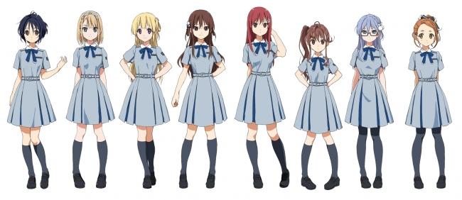 制服衣装のキャラクター新規設定を公開!