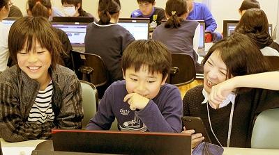 船橋市立夏見台小学校でプログラミング体験授業
