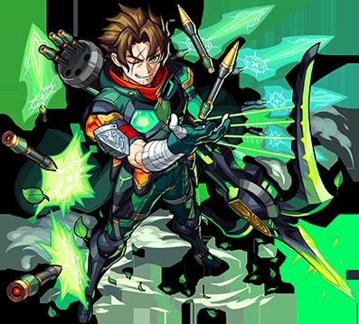 木属性 ★6  大いなる伝説の英雄 ロビン・フッド(★6)