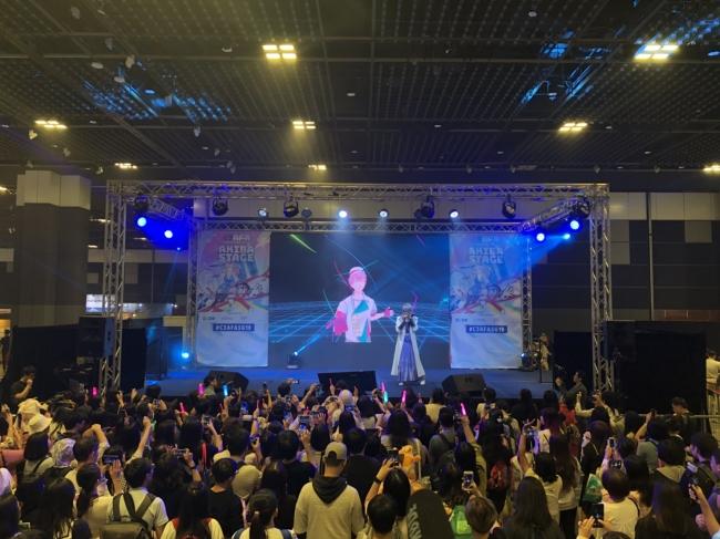 ▲イベント「C3 AFA Singapore 2019」(シンガポール)でのステージの様子。