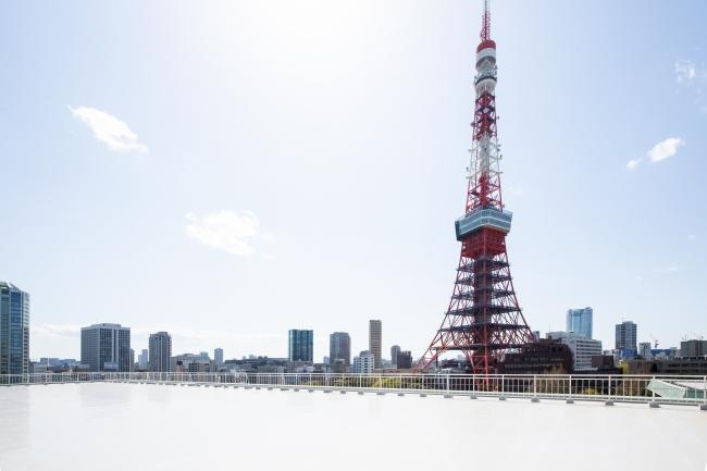東京プリンスホテル 屋上