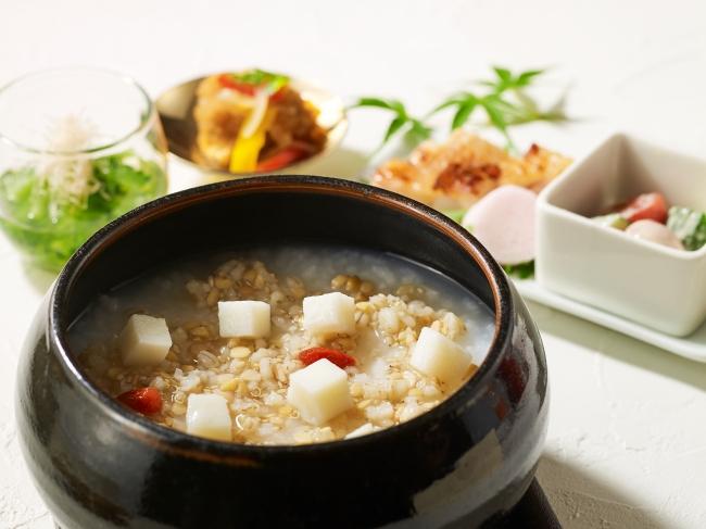 日本料理 芝桜 薬膳粥膳朝食イメージ