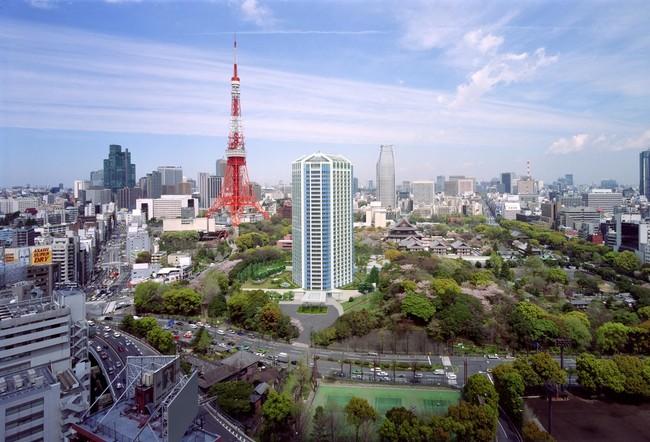 豊かな緑に囲まれたロケーション(ザ・プリンス パークタワー東京)