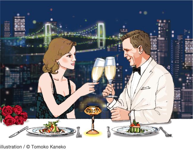 Bond Dinner~Diamond dinners are forever~イラストメージ(ザ・プリンス パークタワー東京)