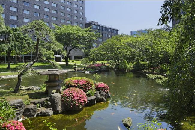 【グランドプリンスホテル新高輪】日本庭園