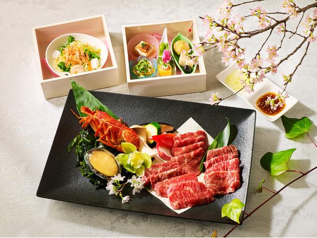 【ビアレストラン ガーデンアイランド】バーベキューセット 東京ビーフ&シーフード御膳 イメージ