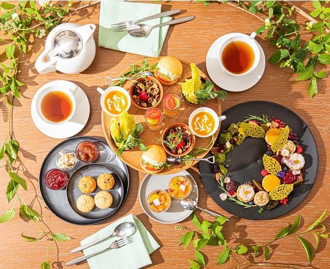 Flower Garden Vegan Afternoon Tea イメージ(ザ・プリンスギャラリー 東京紀尾井町)