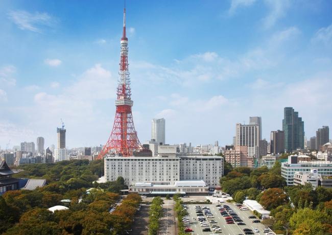 東京プリンスホテル全景