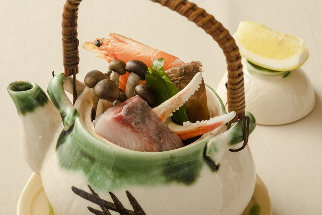 広島レモン香る土瓶蒸し(イメージ)