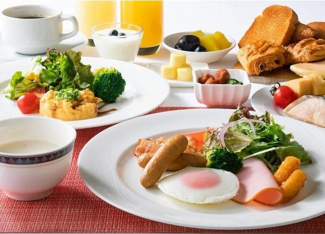 朝食ビュッフェ(イメージ)
