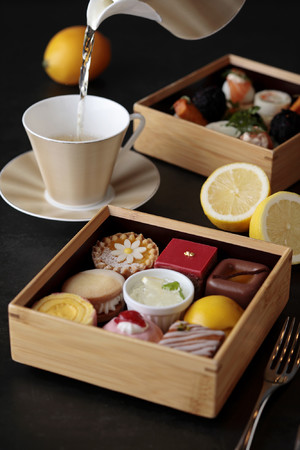 広島レモンのアフタヌーンティーセット イメージ