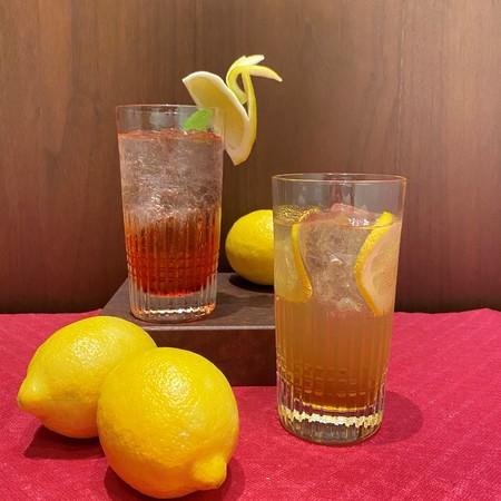 広島レモンのノンアルコールカクテル2種 イメージ