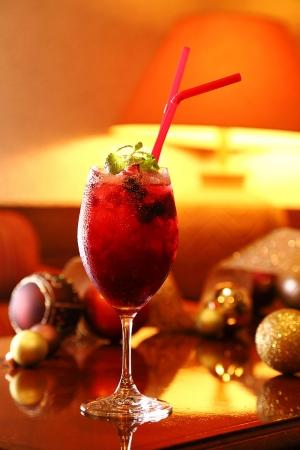 クリスマスカクテル「Berry Merry」