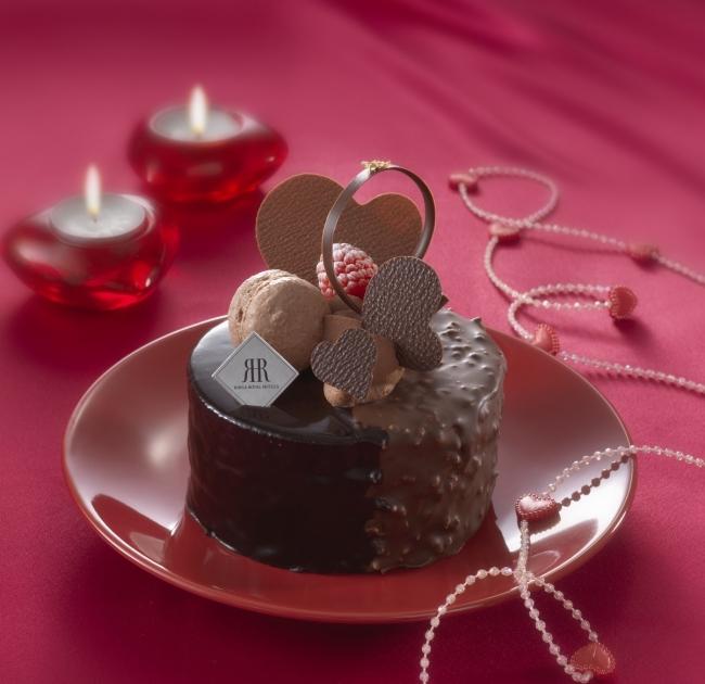 スイートバレンタインケーキ