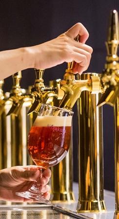 オールデイダイニング カザ「京都産クラフト樽ビール3種の美味くらべを愉しむビアフリーフロー」