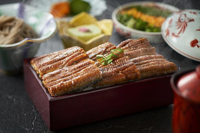日本料理なにわ「鰻重セット」イメージ