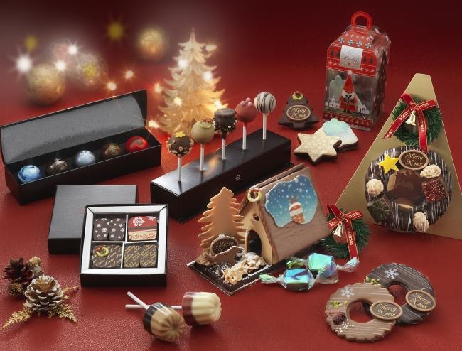 「ショコラブティック レクラ」クリスマス商品イメージ