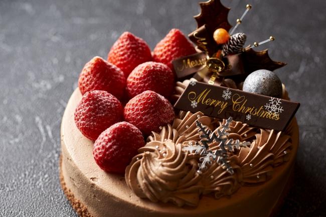 「クリスマスチョコレートデコレーションケーキ」イメージ