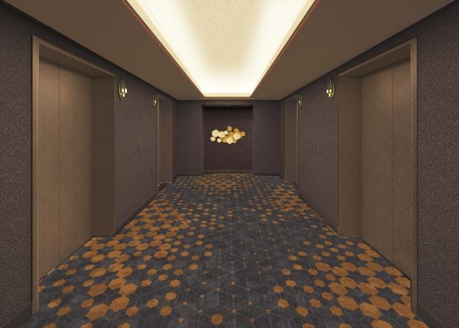 スーペリアフロア21-23階 エレベーターホールイメージ