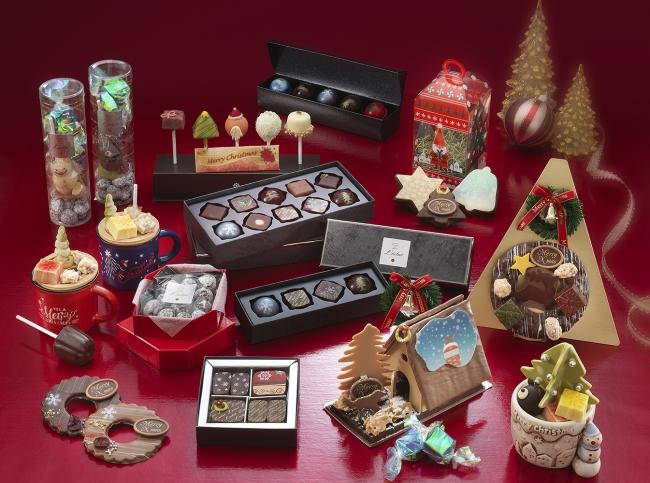 ショコラブティック レクラのクリスマス限定ショコラ イメージ