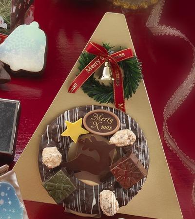 クリスマスリース(L)