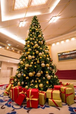 【1階ロビー】クリスマスツリー(イメージ)