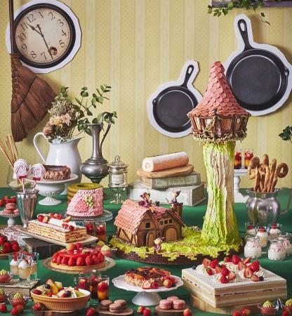 いちごスイーツビュッフェ 第1弾 見習い魔女のお菓子工房 イメージ
