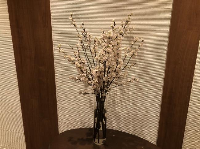 桜の装飾イメージ