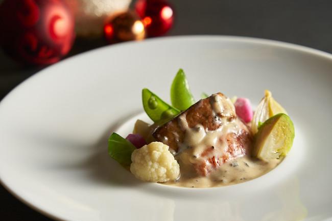 オマール海老とフォワグラのフリカッセ トリュフ風味 イメージ