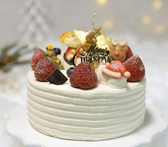 ホテル特製クリスマスケーキ (直径約15cm)