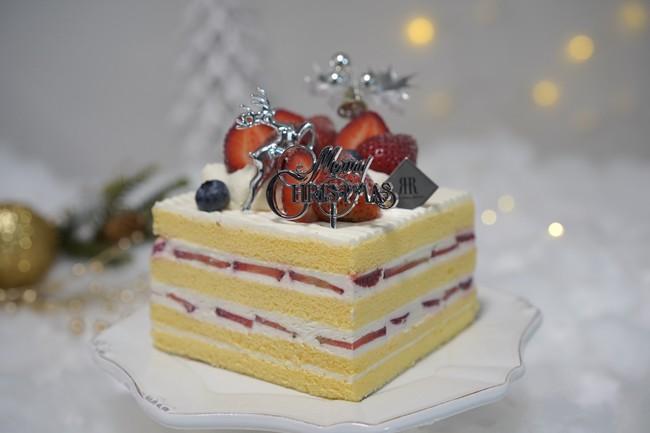 ホテル特製クリスマスケーキ(約11cm角)