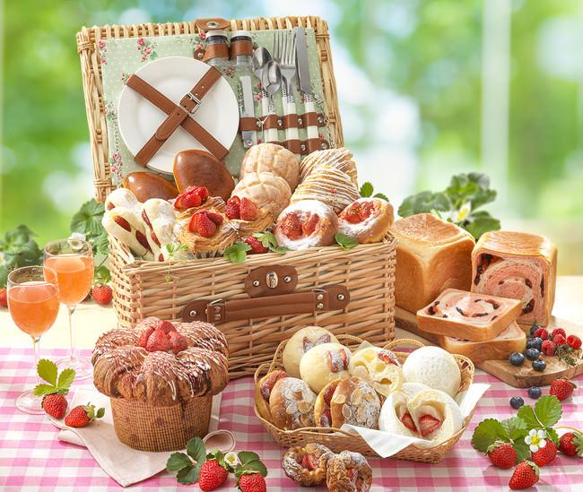 グルメブティック メリッサ「苺フェア」パン イメージ