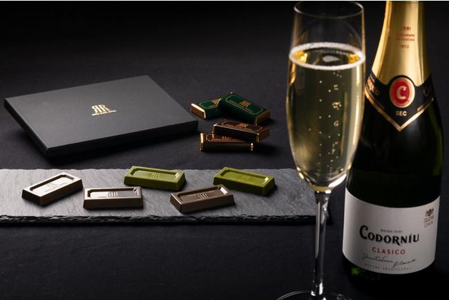 スパークリングワイン&スイーツ(イメージ)