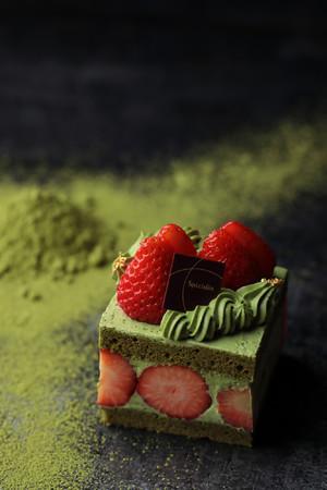「和束の抹茶ショートケーキ」イメージ